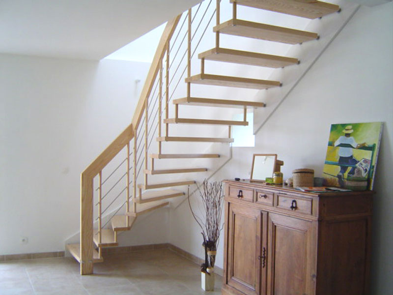 Escalier suspendu design escalier contemporain mod le nova for Rampe moderne d escalier