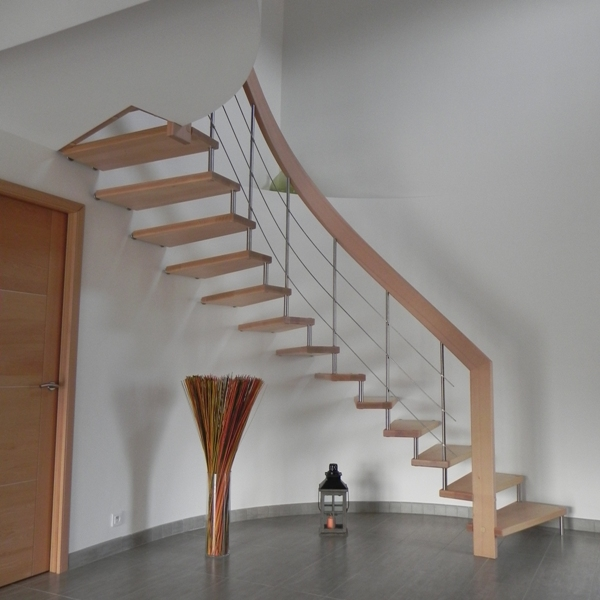 Escalier Suspendu Design Escalier Contemporain Mod Le Nova