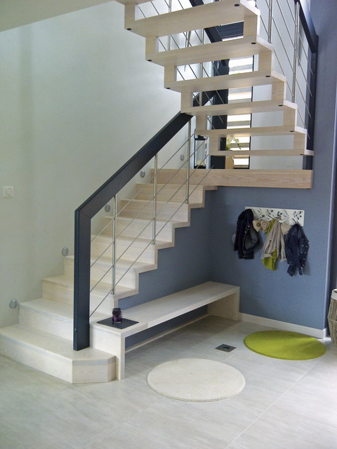 escalier quart tournant avec palier 28 images. Black Bedroom Furniture Sets. Home Design Ideas