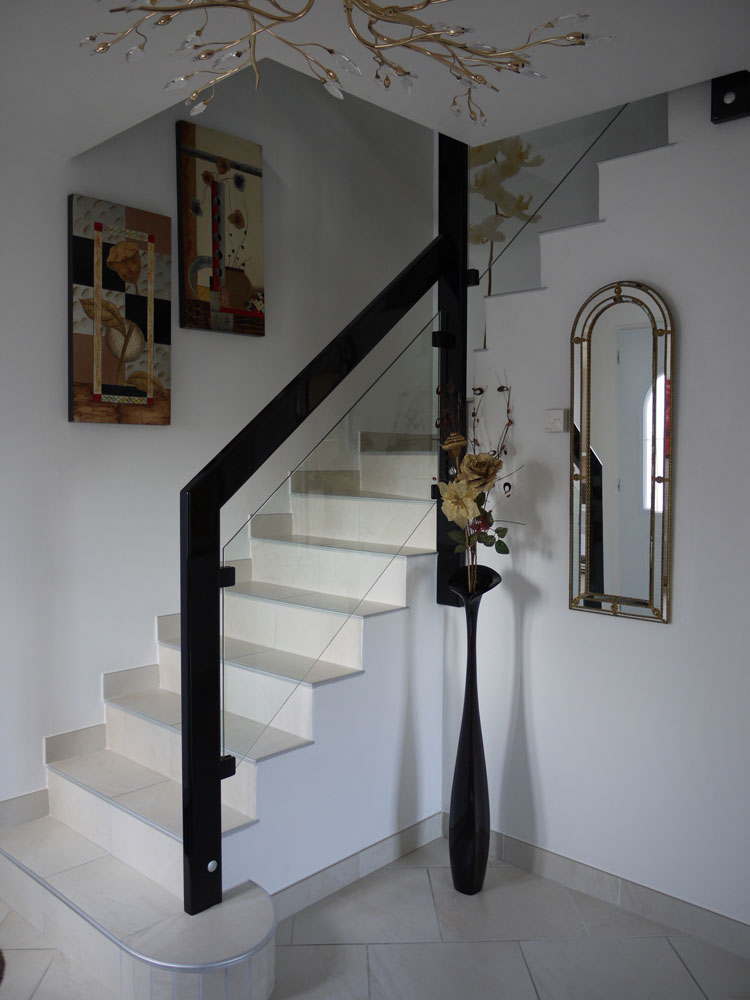 escalier interieur en beton tc68 jornalagora. Black Bedroom Furniture Sets. Home Design Ideas