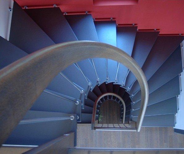 escalier demi tournant colimacon main courante escalier courbe 26 07. Black Bedroom Furniture Sets. Home Design Ideas